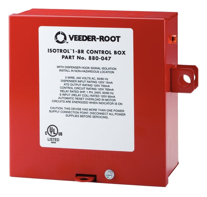 red jacket pump control boxes veeder root