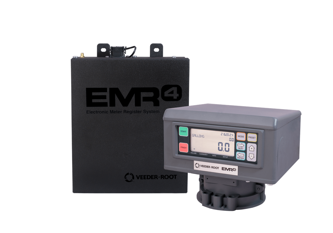 Emr4 Electronic Meter Register Veeder Root Red Jacket Submersible Pump Wiring Diagram These Core Components Along With A Series Of Accessories Allow The User To Configure System That Meets Their Specific Needs On Delivery Vehicle
