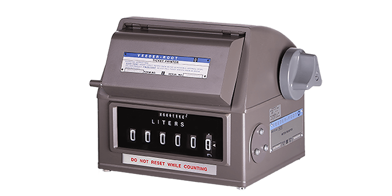 7886 Mechanical Meter Register with printer