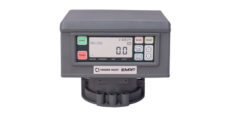 EMR4 Meter-Mounted Display Head - English
