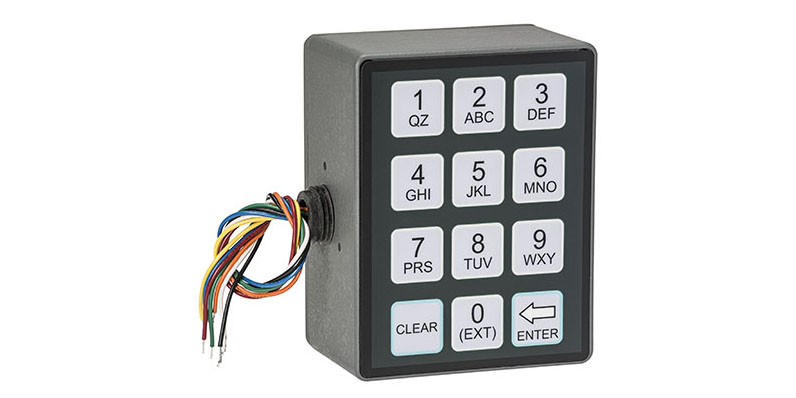 Right-Side Keypad for Meter-Mounted Display Head