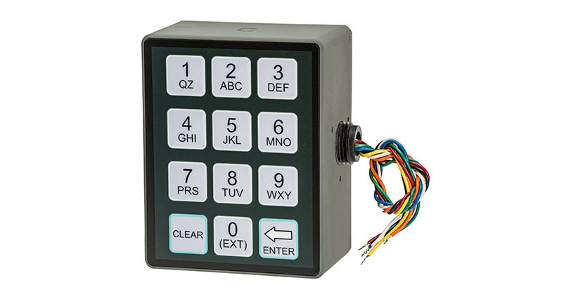 Left-Side Keypad for Meter-Mounted Display Head
