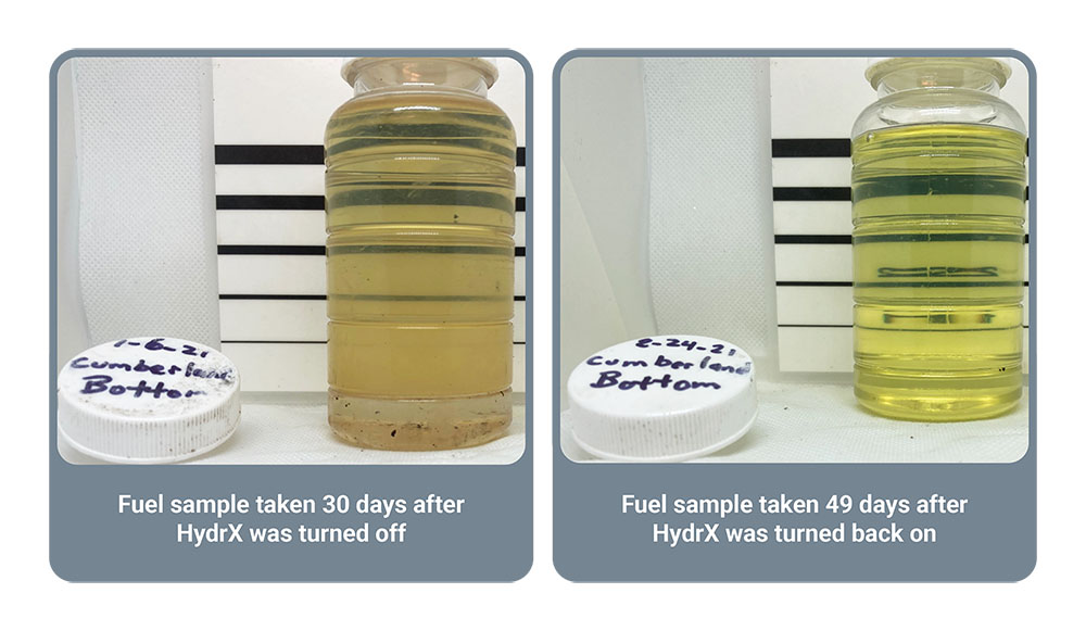 Conditioned Fuel Samples